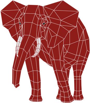 FUJITSU Enterprise Postgres Red Elephant Icon