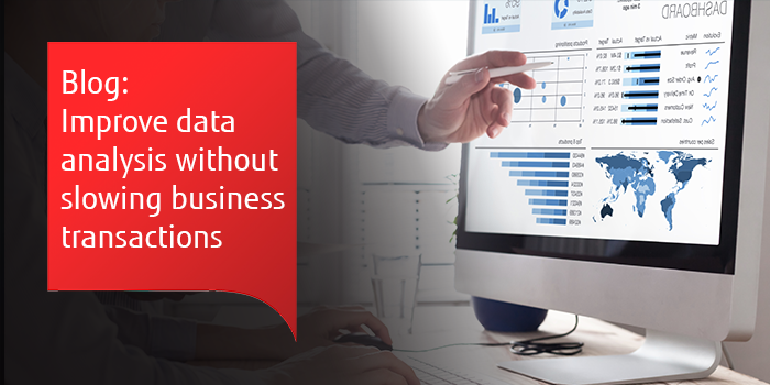 Improve data analysis without impacting business transactions