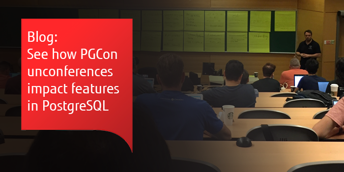 How PGCon Unconferences impact PostgreSQL development