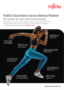 Brochure: FUJITSU Cloud Native Service Delivery Platform