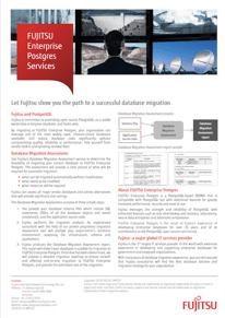 Database Migration Assessment brochure