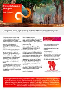 Datasheet: FUJITSU Enterprise Postgres