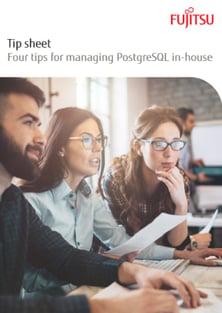 Tip sheet: Four Tips for Managing PostgreSQL In-House