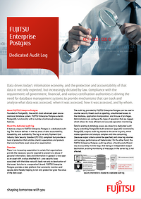 Thumbnail: White Paper Dedicated Audit Log