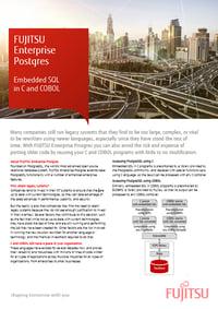 Emedded SQO in C and COBOL white paper - FUJITSU Enterprise Postgres