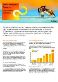 High-Speed Data Load white paper - FUJITSU Enterprise Postgres