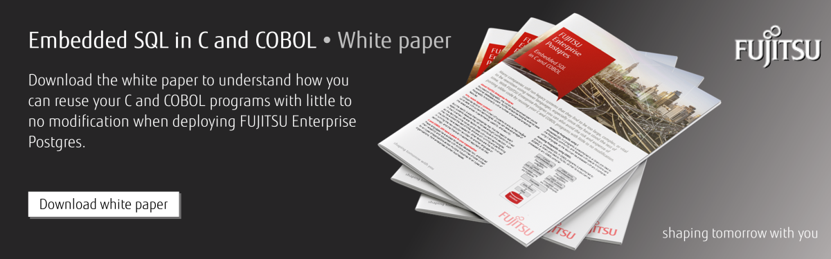 Embedded sql in C and COBOL white paper