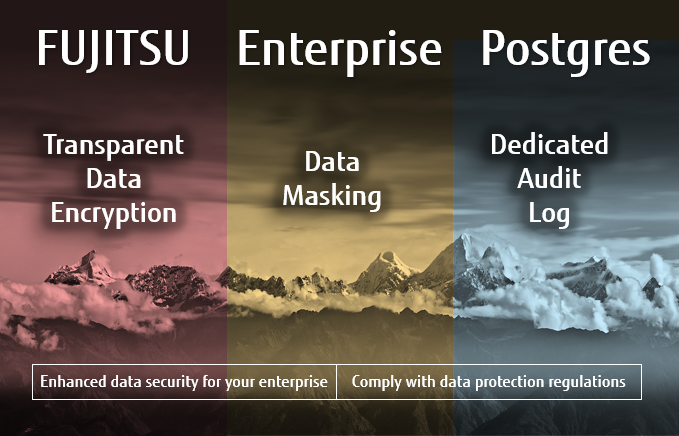 FUJITSU Enteprise Postgres enhanced security features